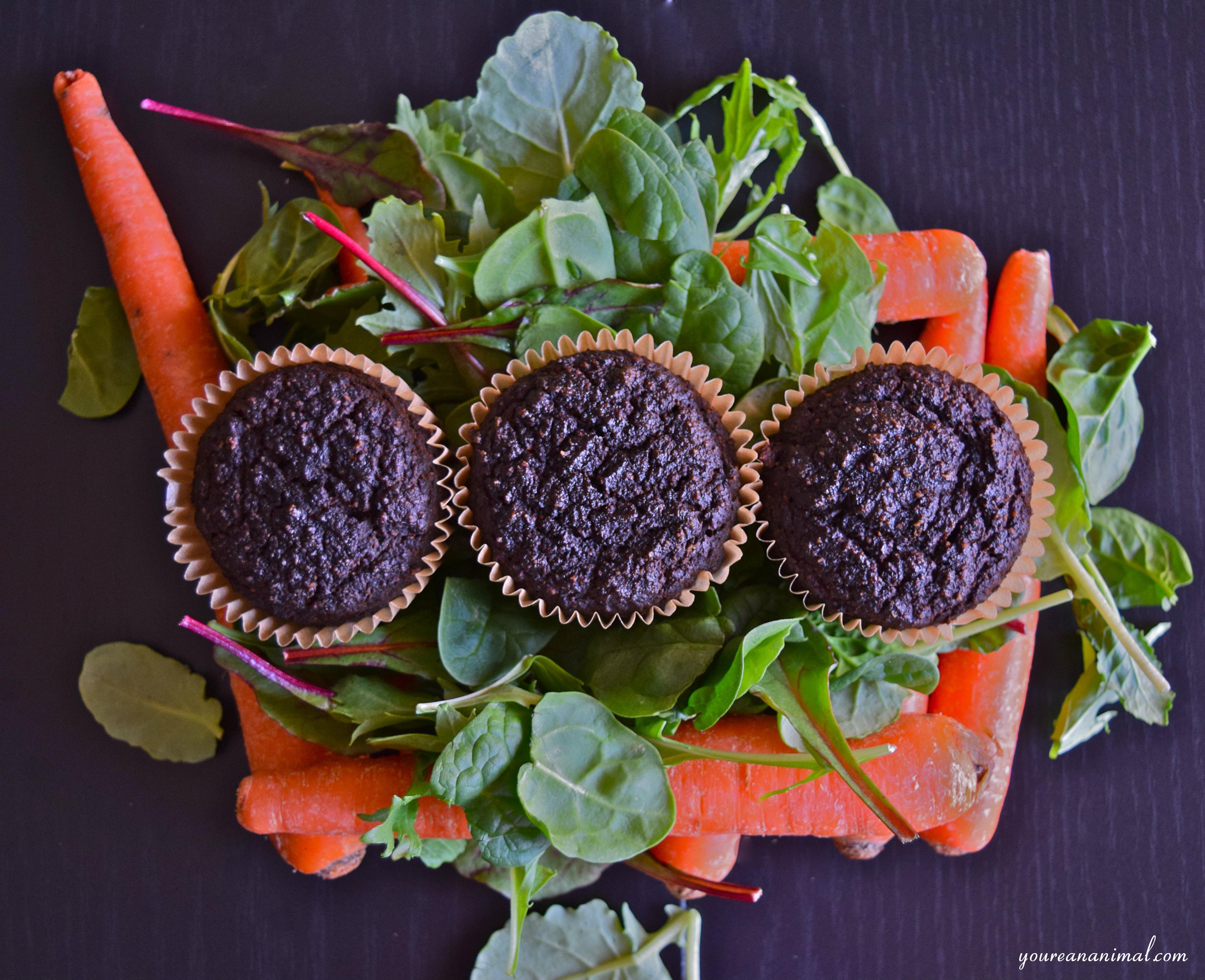 hidden veggie muffins gluten free nut free white sugar free