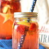 Stars and Stripes Sangria 4th of july