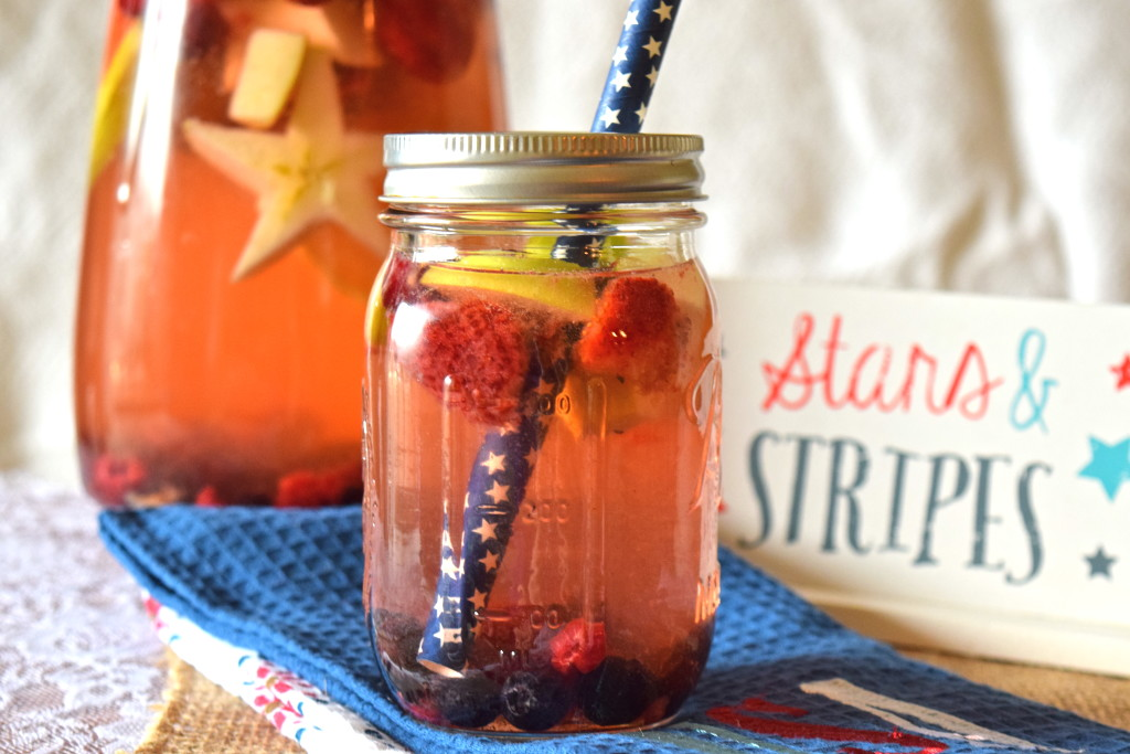 Stars and Stripes Sangria Independence Day